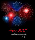 USA Happy Independence Day, 4th of July. Vector Illustration Stock Photo