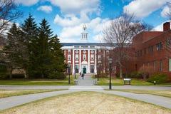 06.04.2011, USA, Harvard University, Bloomberg. Boston Harvard University, Bloomberg sunny day people students teachers clouds blue sky dried grass Stock Photo