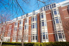 06.04.2011, USA, Harvard University, Morgan. Boston Harvard University poster clear weather, sunny day spring time nobody landmarks Morgan Royalty Free Stock Photos
