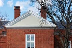 06 04 2011 USA, Harvarduniversitetet, Aldrich Arkivbild
