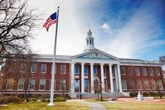 06 04 2011 USA, Harvarduniversitetet, Bloomberg Arkivfoton