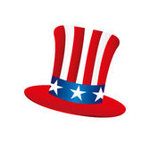 Usa hat isolated icon Stock Photos