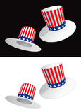 USA hats Stock Images