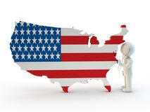 Usa health control Stock Photography