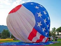 USA Hot Air Ballon Stock Photo