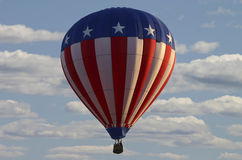 USA Hot Air Balloon Stock Photo