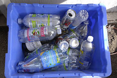 USA_household废物 图库摄影