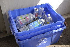 USA_household odpady Zdjęcia Royalty Free