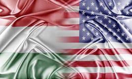 USA and Hungary Stock Photo