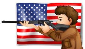 USA hunter Royalty Free Stock Images