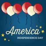 USA Icons Stock Photo