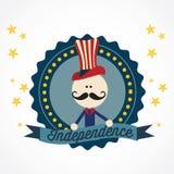 USA ikony Obraz Stock
