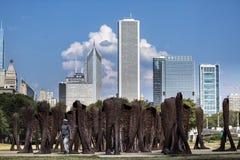 USA - Illinois, Chicago - Zdjęcie Stock