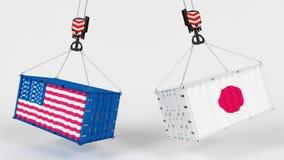 USA import Tarrifs Zdjęcia Stock