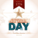 USA Indenpendence Day background Stock Photography