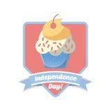 Usa Indepence day design Royalty Free Stock Photos
