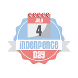 Usa Indepence day design Royalty Free Stock Images