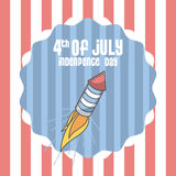Usa Indepence day design Stock Image