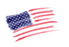 USA Independenc day background. USA Independence day background. Happy 4th of July. Vector abstract grunge flag. Template for banner, greeting card, invitation Stock Image