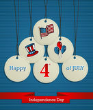 USA Independence day background Stock Photos