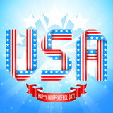 USA Independence Day Background Stock Photography