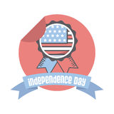 Usa Independence day design Stock Photo