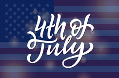 USA Independence Day Greeting Card Royalty Free Stock Photo