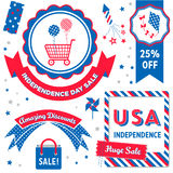 USA Independence Day Sale Stock Photography