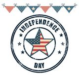 USA independence day star. Vector illustration design Stock Photo