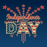 USA Independence day. Royalty Free Stock Photo