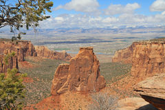 USA: Independence Rock in CO National Monument Royalty Free Stock Photography