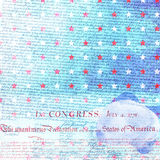 USA Independence Scrapbook Paper Stock Image