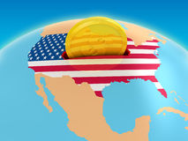 USA Investment Stock Image