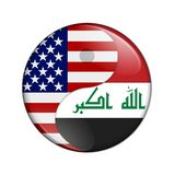 USA and Iraq working together Stock Images