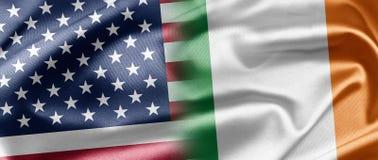 USA and Ireland Stock Photo