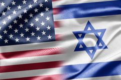 USA and Israel stock photo