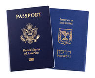 Double Nationality - American & Israeli Royalty Free Stock Photos