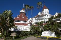 USA - Kalifornien - San Diego - hotell Coronado Royaltyfria Bilder