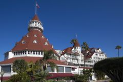 USA - Kalifornien - San Diego - hotell Coronado Royaltyfri Foto