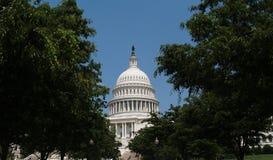 USA-Kapitol-Gebäude-Haube stockbilder