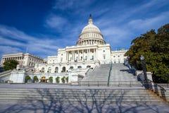 USA-Kapitoliumbyggnad Arkivbild