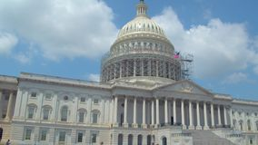 USA-Kapitoliumbyggnad stock video