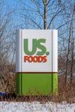 USA Karmowa powierzchowność i znaka firmowego logo Obraz Stock
