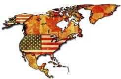 USA-Karte Stockbild