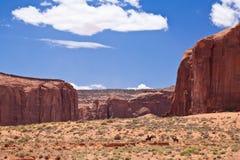 USA - końska jazda w Pomnikowej dolinie Fotografia Stock