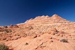 USA - Kojote Buttes - die Wellenbildung Stockfotografie