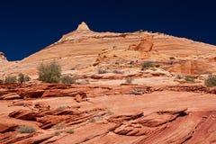USA - Kojote Buttes - die Wellenbildung Stockbilder