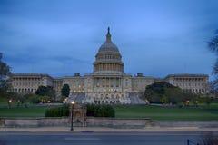 USA kongres przy półmrokiem obraz stock