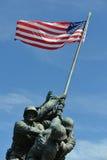 USA korpusy piechoty morskiej Pamiątkowi w washington dc usa obrazy stock