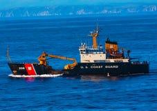 USA-kustbevakning Cutter Buoy Tender Royaltyfria Foton
